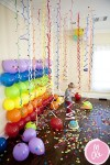 pared de globos decoracion con globos
