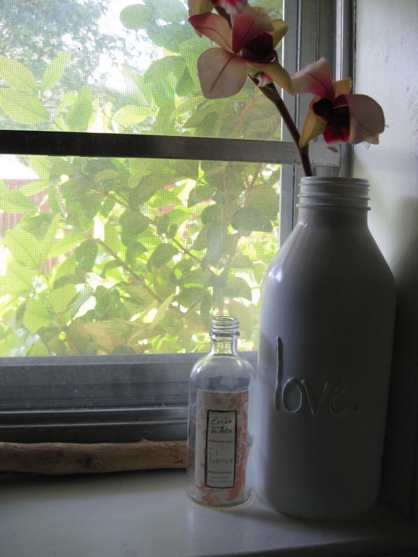 Botellas para centro de mesa o recuerdo de fiesta.