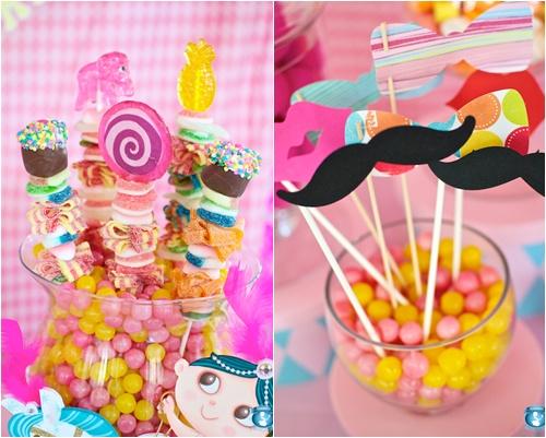 Centros de mesa para fiestas infantiles para niña - Imagui