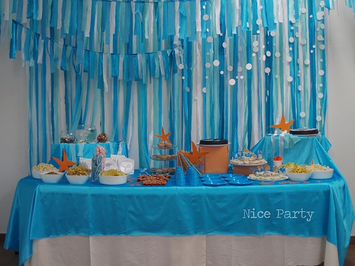 Fiesta infantil temática: En el fondo del Mar