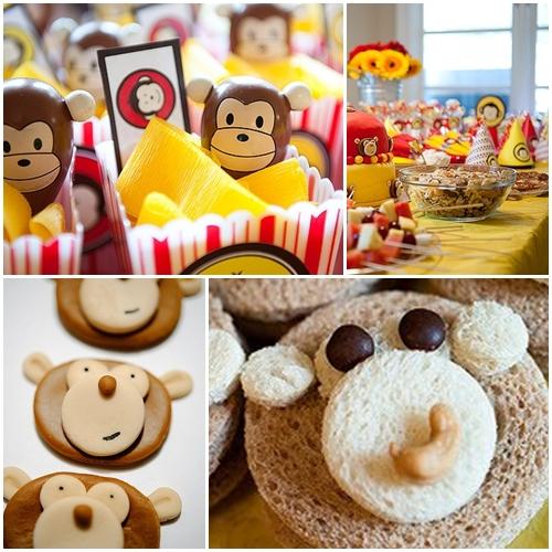 Fiesta temática de monos.