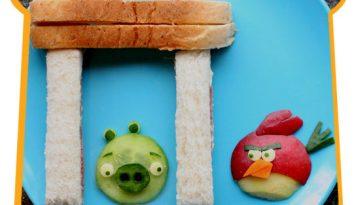 Sandwich de Angry Birds
