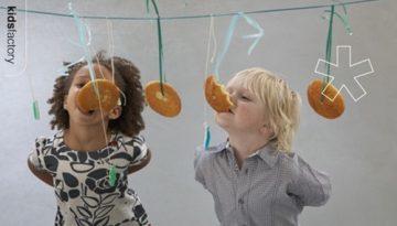 Juegos para niños: ¿Quién se come antes la galleta?