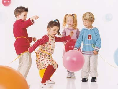juegos con globos para nios
