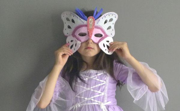 Manualidades para niñas: Un baile de máscaras