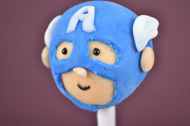Fiesta temática del Capitán América.