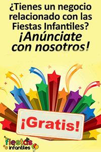fiestas infantiles anúnciate gratis