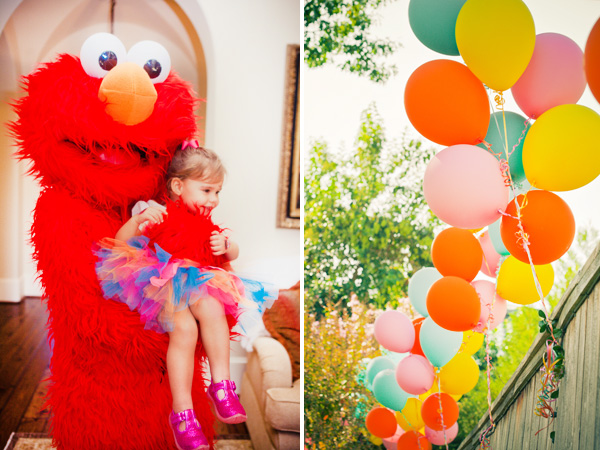 Fiesta Temática De Elmo.