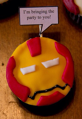 Cupcakes Avengers.