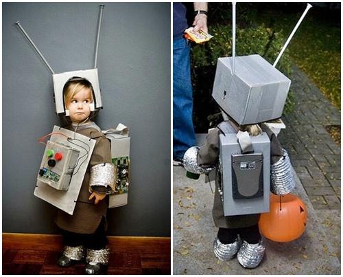 DIY Disfraz De Robot Para Ni  O Con Reciclables