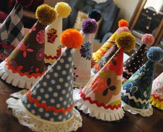 DIY Gorritos para fiesta.