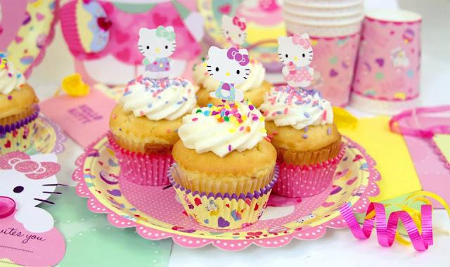 Decoracion Hello Kitty Fiestas Infantiles ~ Fiesta Tem?tica Hello Kitty  Fiestas Infantiles, Directorio de