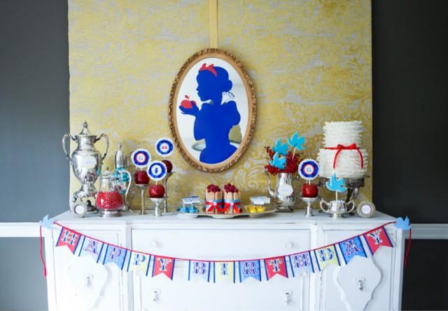 Fiesta temática de Blancanieves. | Servicios y blog sobre ...
