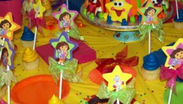 Fiesta temática Dora La Exploradora.