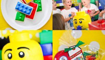Fiesta Temática De Lego.