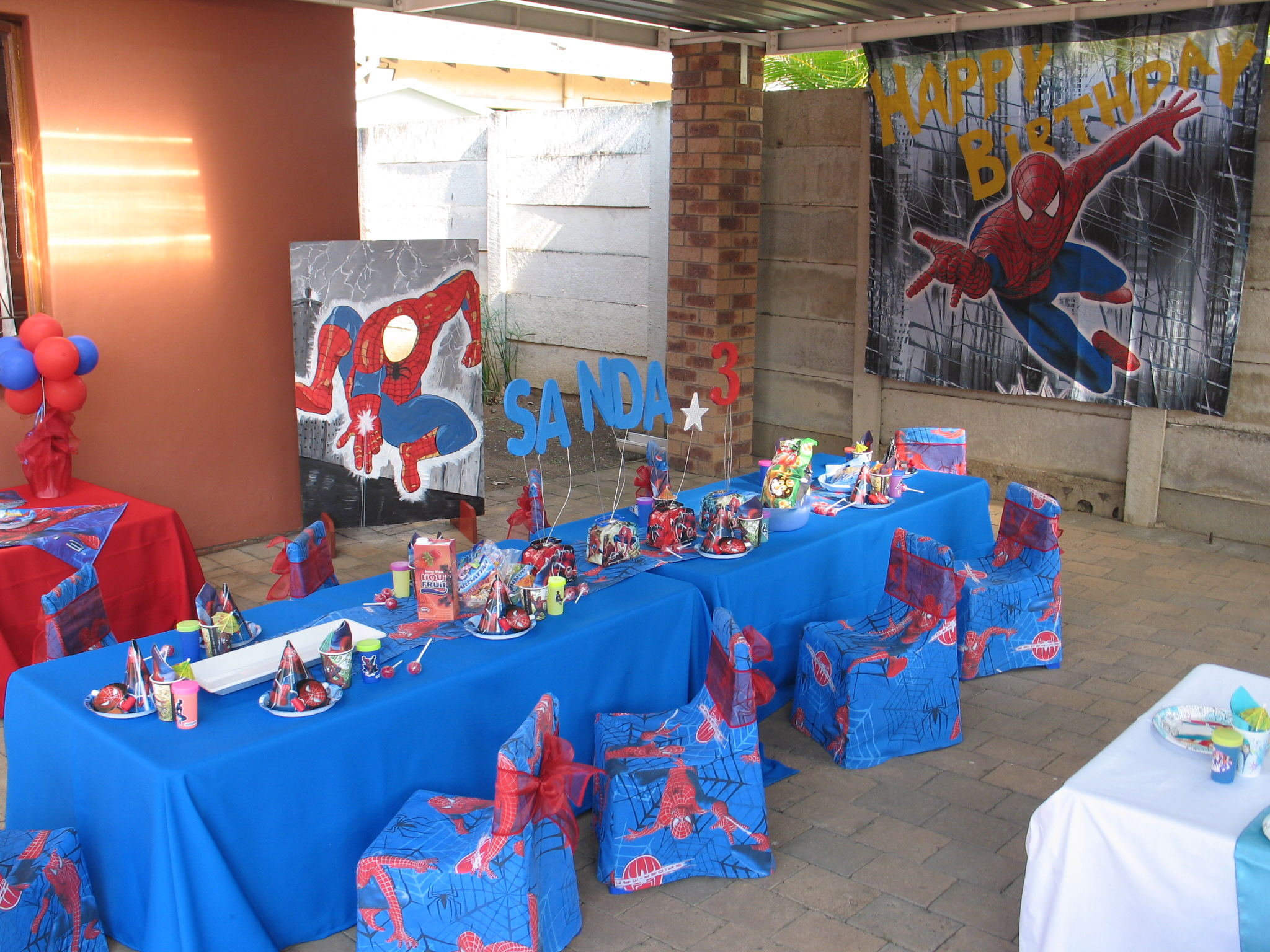 Fiesta tem tica spiderman fiestas infantiles directorio - Fiesta infantil tematica ...