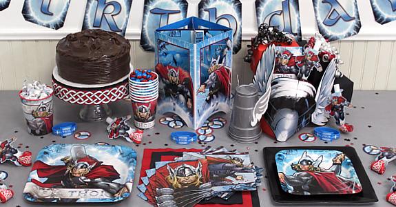 Fiesta temática Avengers.
