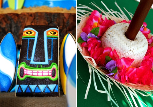 Fiesta hawaiana para estar en la 'cresta de la ola'