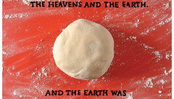 Galletas expresando la creación del universo.