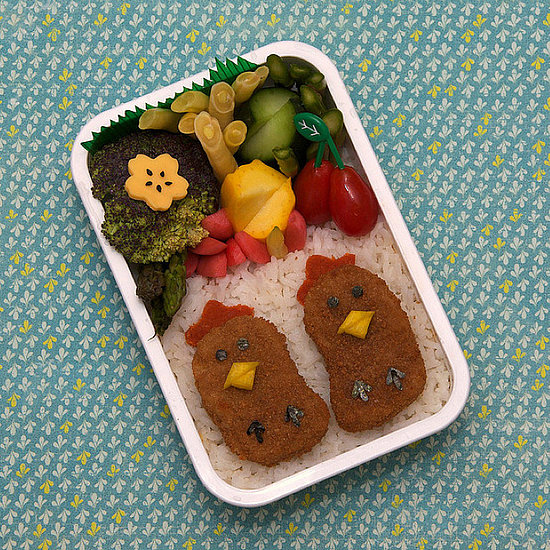 Lunch box para fiesta.