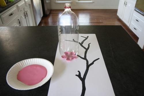 Como hacer Hanami con una botella PET