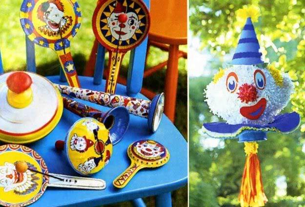 Circus Pinata Clown
