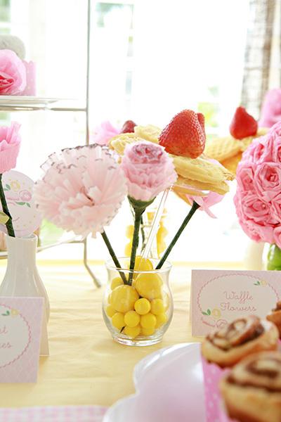 Fiesta para niñas de flores