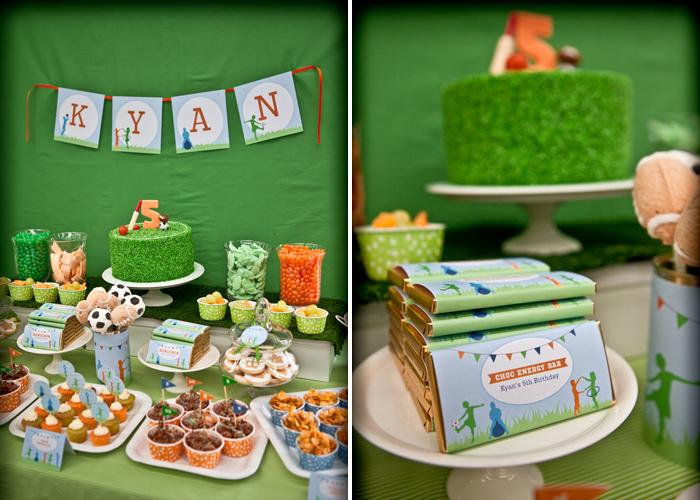 Como hacer una fiesta s per deportiva fiestas infantiles for Decoracion deportiva
