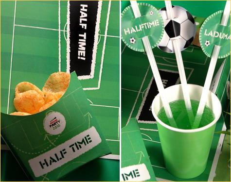 Fiesta temática de Fútbol