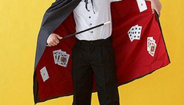 DIY Disfraz improvisado de mago