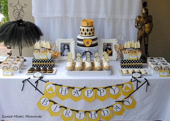 Fiesta en amarillo y negro