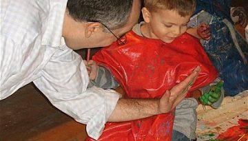 Fiesta infantil temática de pintores.