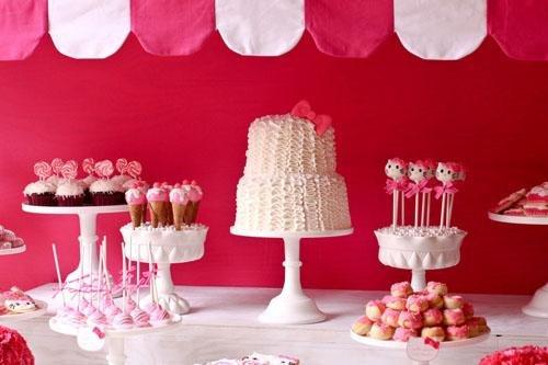 Como hacer una fiesta temática de Hello Kitty.