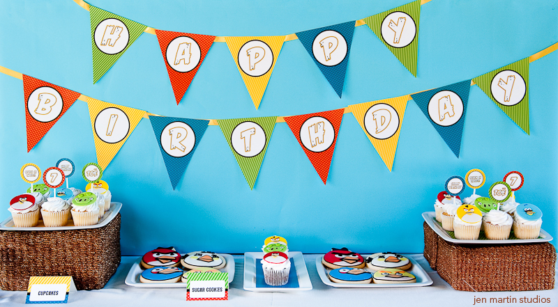 Fiesta temática de Angry Birds | Fiestas Infantiles, Directorio de ...