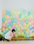 pared de globos decoracion con globos