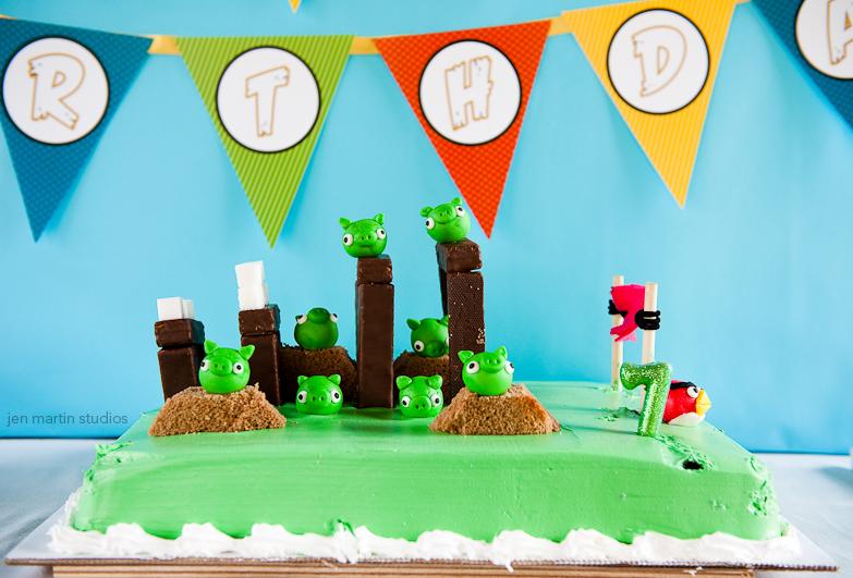 Fiesta temática de Angry Birds