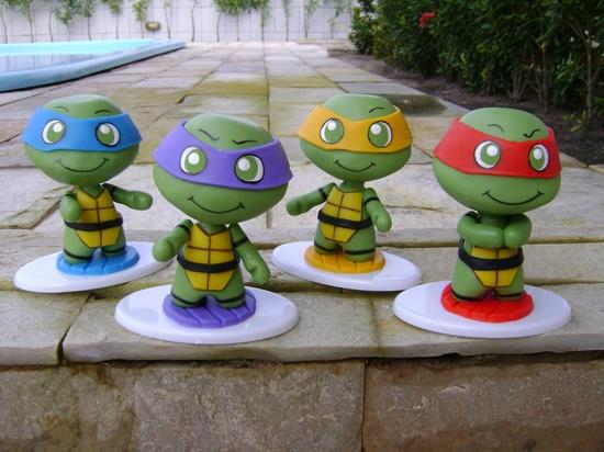 Fiesta Temática de las Tortugas ninja!