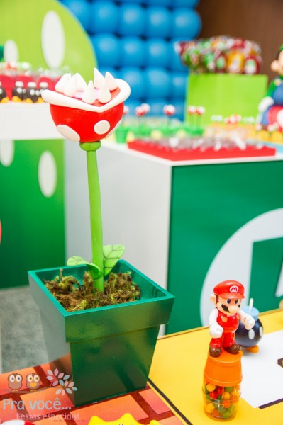 Fiesta Temática de Mario Bros (SuperMario)