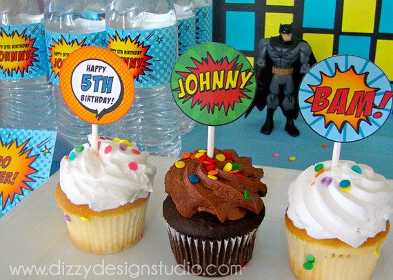 Ideas para una fiesta de super heroes!