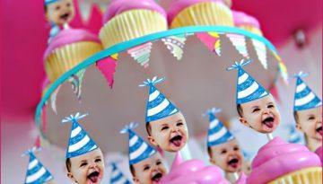 Fiesta para el primer año del bebe 00