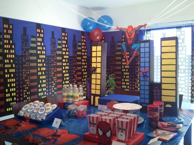Fiesta temática de Spiderman