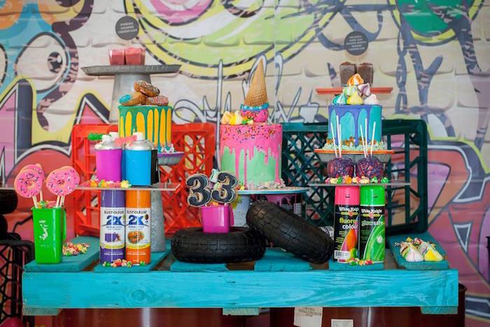 Fiesta para grafiteros