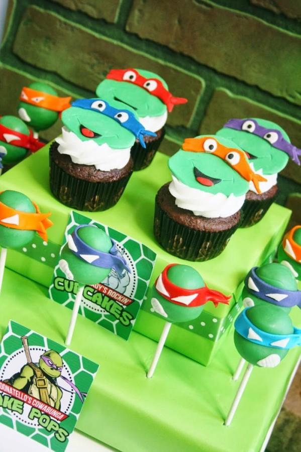 Sorprendente fiesta de las tortugas ninja (Teenage Mutant Ninja Turtles)